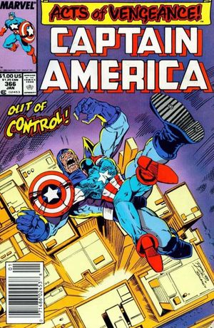 CAPTAIN AMERICA (1968 1ST SERIES) #366