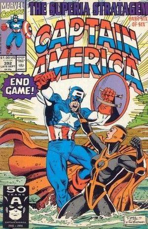 CAPTAIN AMERICA (1968 1ST SERIES) #392