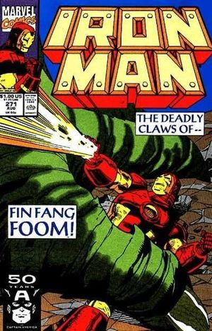 IRON MAN (1968 1ST SERIES) #271