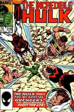 INCREDIBLE HULK (1962-1999 1ST SERIES) #316