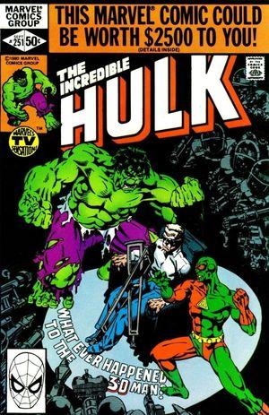 INCREDIBLE HULK (1962-1999 1ST SERIES) #251