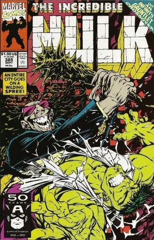 INCREDIBLE HULK (1962-1999 1ST SERIES) #385