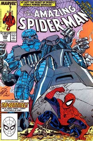 AMAZING SPIDER-MAN (1963 1ST SERIES) #329