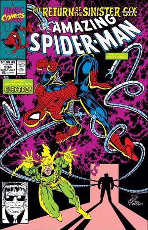 AMAZING SPIDER-MAN (1963 1ST SERIES) #334
