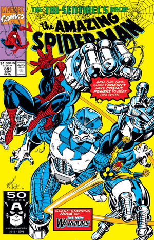 AMAZING SPIDER-MAN (1963 1ST SERIES) #351