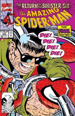 AMAZING SPIDER-MAN (1963 1ST SERIES) #339