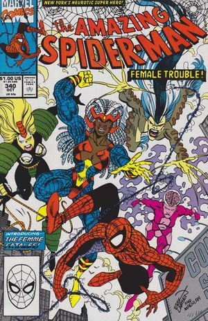 AMAZING SPIDER-MAN (1963 1ST SERIES) #340
