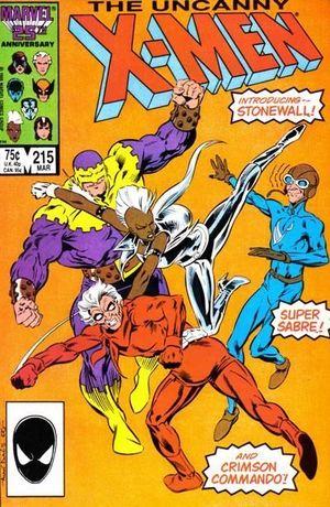 UNCANNY X-MEN (1963 1ST SERIES) #215