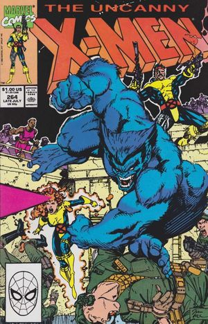 UNCANNY X-MEN (1963 1ST SERIES) #264