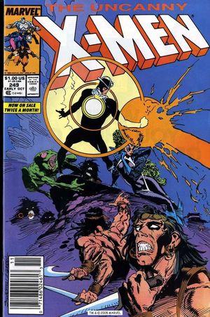 UNCANNY X-MEN (1963 1ST SERIES) #249