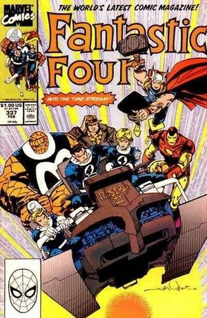 FANTASTIC FOUR (1961 1ST SERIES) #337