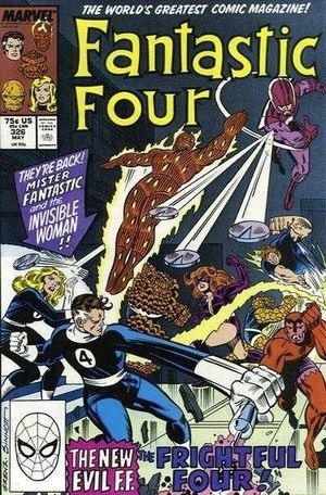 FANTASTIC FOUR (1961 1ST SERIES) #326