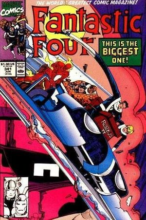 FANTASTIC FOUR (1961 1ST SERIES) #341