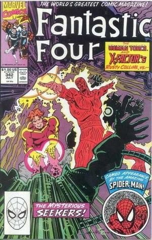 FANTASTIC FOUR (1961 1ST SERIES) #342