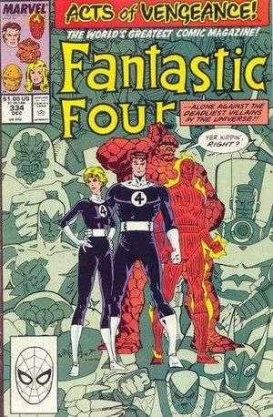 FANTASTIC FOUR (1961 1ST SERIES) #334