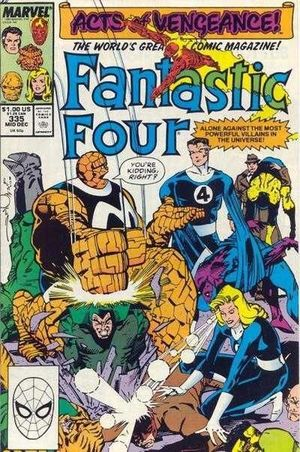 FANTASTIC FOUR (1961 1ST SERIES) #335