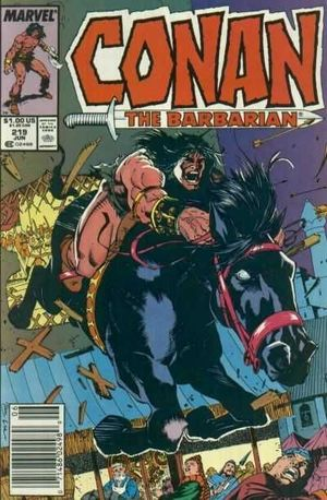 CONAN THE BARBARIAN (1970) #219