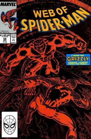 WEB OF SPIDER-MAN (1985 1ST SERIES) #58