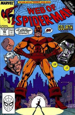 WEB OF SPIDER-MAN (1985 1ST SERIES) #60
