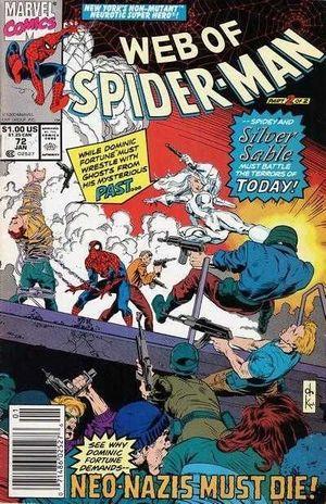 WEB OF SPIDER-MAN (1985 1ST SERIES) #72