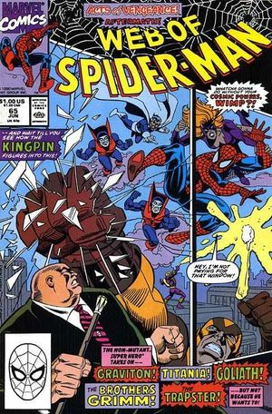 WEB OF SPIDER-MAN (1985 1ST SERIES) #65