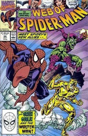 WEB OF SPIDER-MAN (1985 1ST SERIES) #66