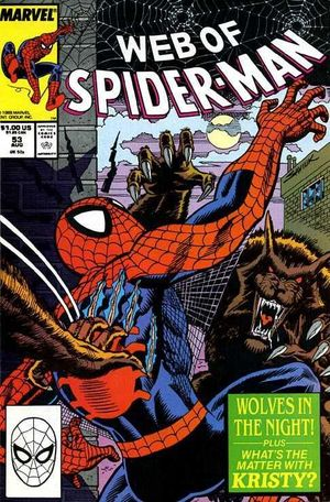 WEB OF SPIDER-MAN (1985 1ST SERIES) #53