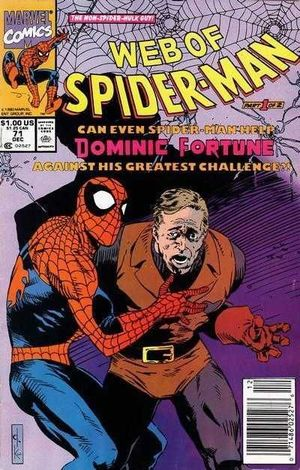 WEB OF SPIDER-MAN (1985 1ST SERIES) #71