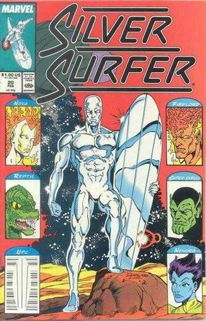 SILVER SURFER (1987 2ND SERIES) #20