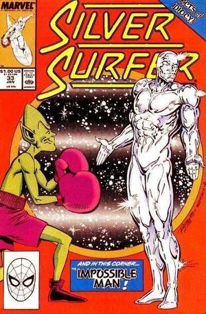 SILVER SURFER (1987 2ND SERIES)