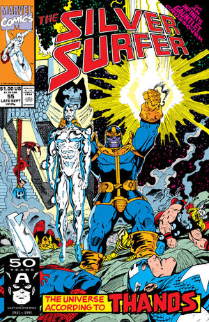 SILVER SURFER (1987 2ND SERIES) #55