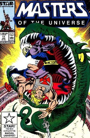 MASTERS OF THE UNIVERSE (1986 MARVEL/STAR COMICS) #11