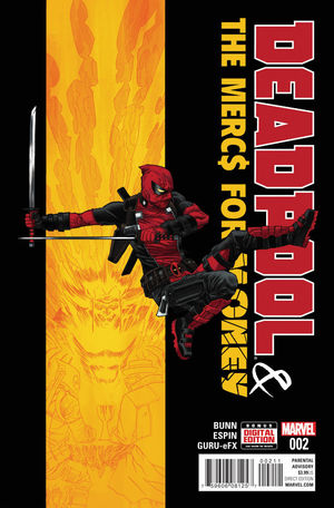 DEADPOOL AND THE MERCS FOR MONEY (2016 MARVEL 1ST  #2A