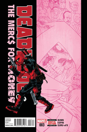 DEADPOOL AND THE MERCS FOR MONEY (2016 MARVEL 1ST  #3A