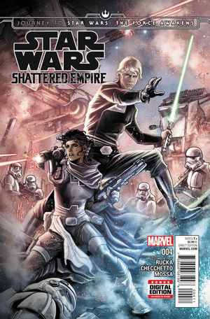 JOURNEY TO STAR WARS THE FORCE AWAKENS SHATTERED E #4A