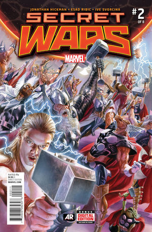 SECRET WARS (2015 3RD SERIES) #2A