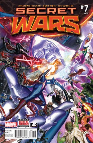 SECRET WARS (2015 3RD SERIES) #7A