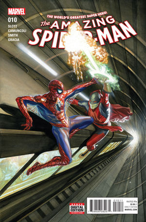 AMAZING SPIDER-MAN (2015 4TH SERIES) #10A