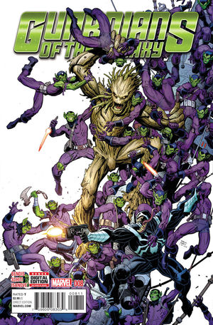 GUARDIANS OF THE GALAXY (2015 4TH SERIES) #8A