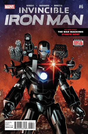 INVINCIBLE IRON MAN (2015 2ND SERIES) #6A