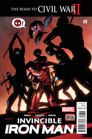 INVINCIBLE IRON MAN (2015 2ND SERIES) #8A
