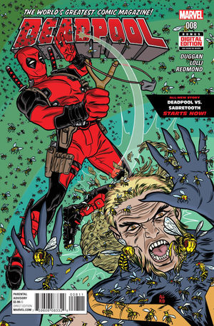 DEADPOOL (2015 4TH SERIES) #8A