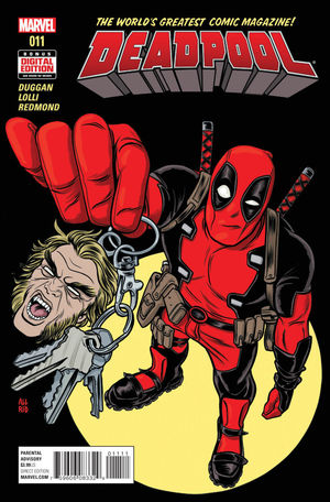 DEADPOOL (2015 4TH SERIES) #11A