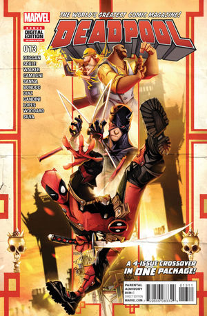 DEADPOOL (2015 4TH SERIES) #13A