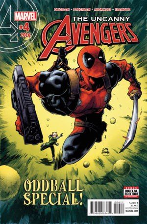 UNCANNY AVENGERS (2015 MARVEL 3RD SERIES) #4A