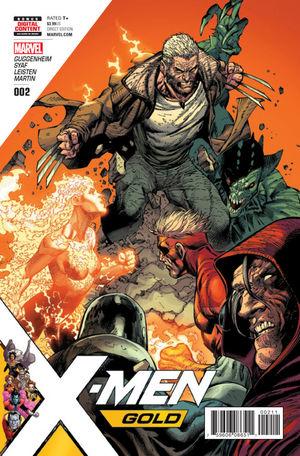 X-MEN GOLD (2017) #2A