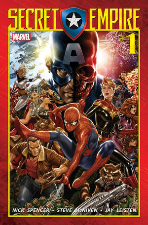 SECRET EMPIRE (2017 MARVEL) #1A