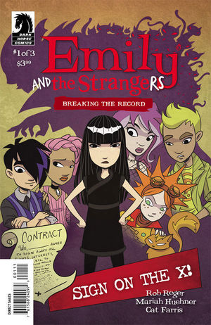EMILY AND THE STRANGERS BREAKING RECORD (2014) #1
