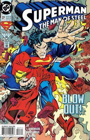 SUPERMAN THE MAN OF STEEL (1991) #27
