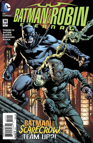 BATMAN AND ROBIN ETERNAL (2015) #14